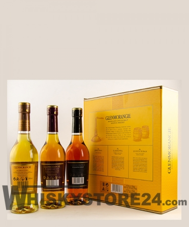 Glenmorangie Pioneering Collection 3x 0,35 l