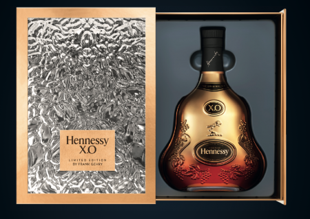 HENNESSY X.O. LIMITED EDITION BY FRANK GEHRY