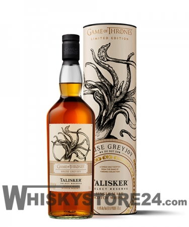 The Game of Thrones // House Greyjoy // Talisker Select Reserve