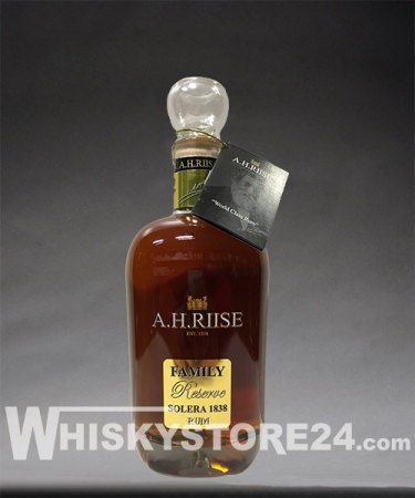 A. H. Riise Family Reserve Solera 1838 – 25 Jahre