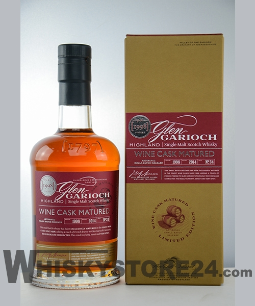 Glen Garioch 1998/2014 Wine Cask Matured