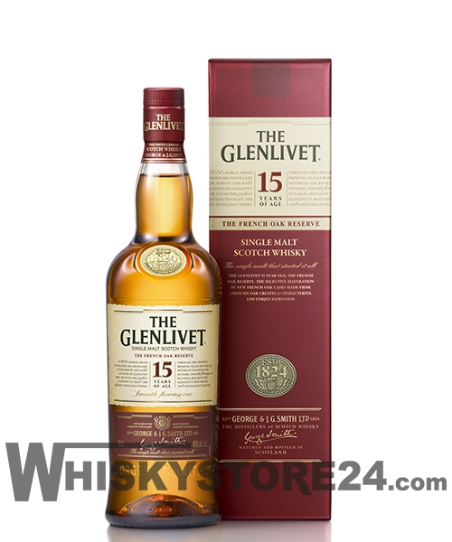 The Glenlivet 15 Jahre – French Oak Reserve